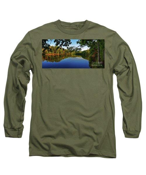 Beginning To Look Like Fall Long Sleeve T-Shirt by Paul Mashburn