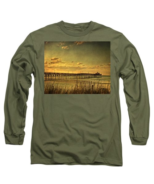 Behind Cherry Grove Pier  Long Sleeve T-Shirt