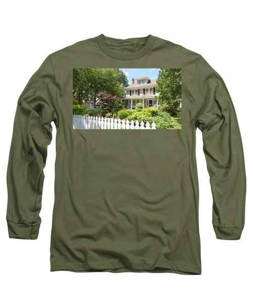 Long Sleeve T-Shirt featuring the photograph Behind The Picket Fence by Charles Kraus