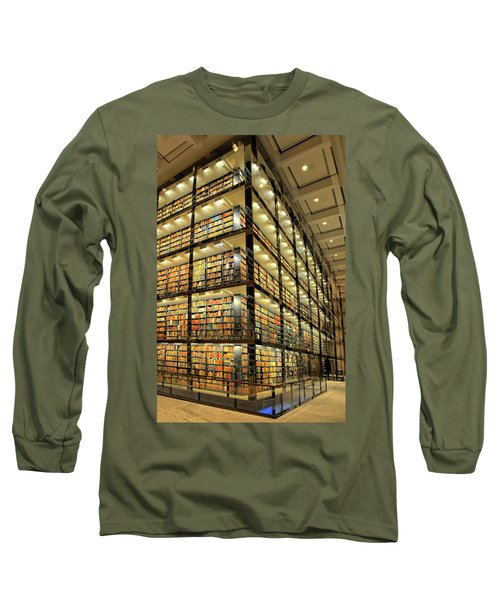 Beinecke Library At Yale University Long Sleeve T-Shirt