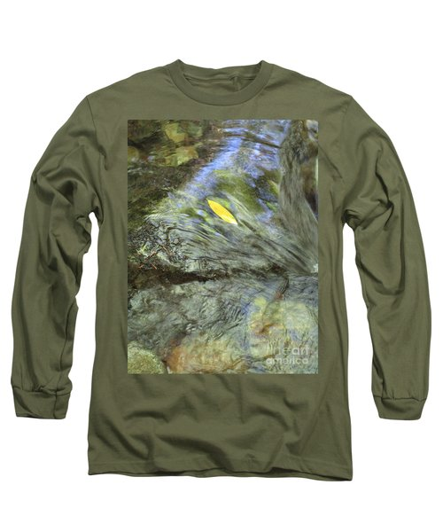 Long Sleeve T-Shirt featuring the photograph Being Still by Marie Neder