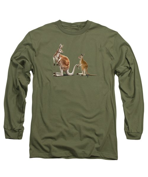 Being Tailed Colour Long Sleeve T-Shirt by Rob Snow