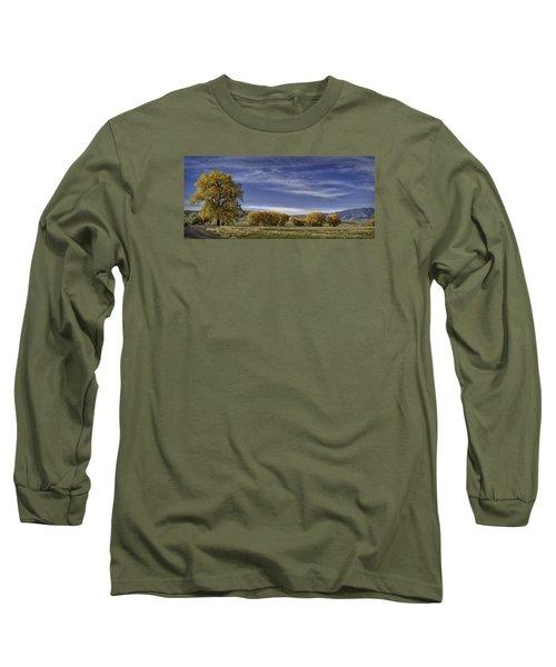 Belfry Fall Landscape 6 Long Sleeve T-Shirt