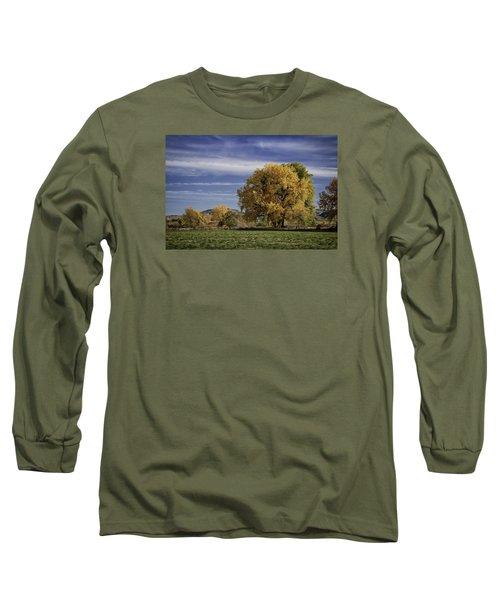 Belfry Fall Landscape 7 Long Sleeve T-Shirt