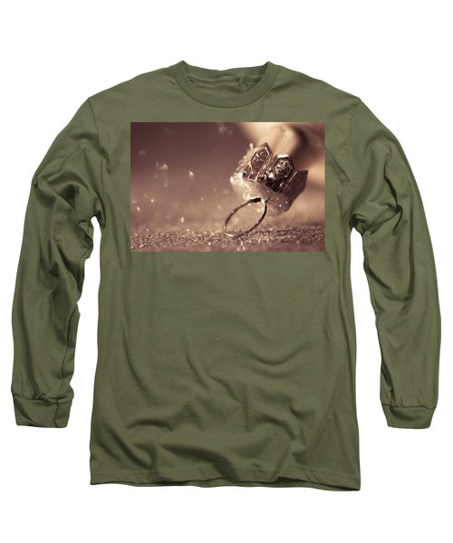 Long Sleeve T-Shirt featuring the photograph Believe In The Magic by Yvette Van Teeffelen