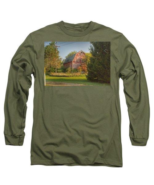 0028 - Belle River Red I Long Sleeve T-Shirt