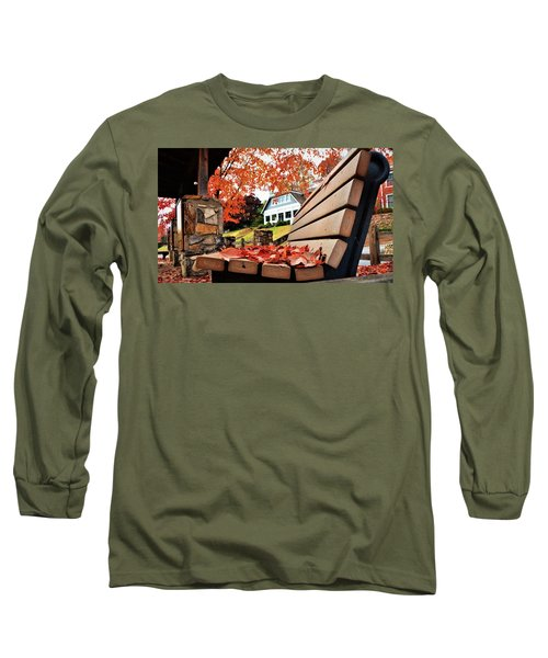 Bench Leaves Long Sleeve T-Shirt