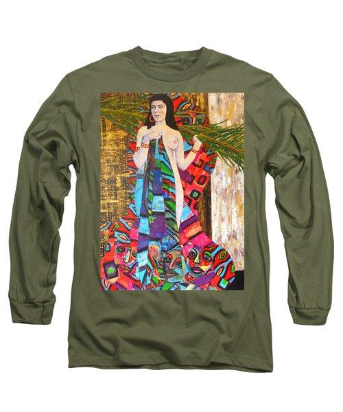 Beneath - Large Work Long Sleeve T-Shirt