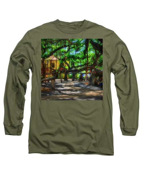 Beneath The Banyan Tree Long Sleeve T-Shirt