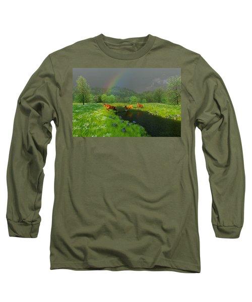 Beneath The Waning Mist Long Sleeve T-Shirt