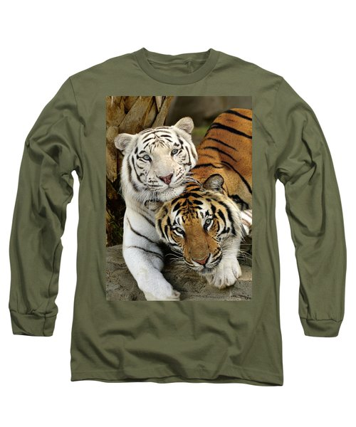 Bengal Tigers At Play Long Sleeve T-Shirt