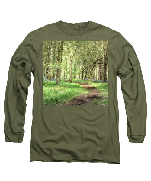 Bentley Woods, Warwickshire #landscape Long Sleeve T-Shirt