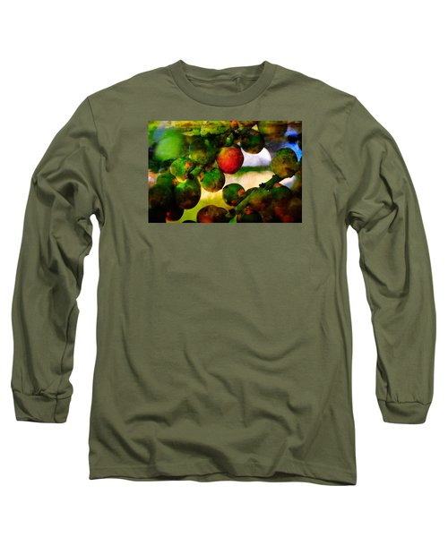 Long Sleeve T-Shirt featuring the photograph Berries by Harry Spitz