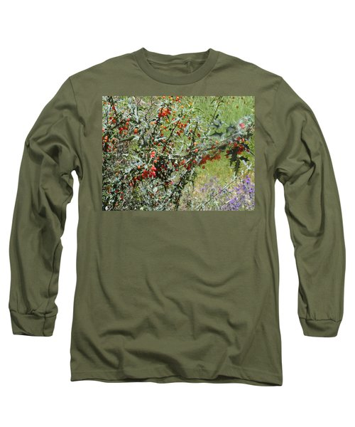 Berries On The Vine Long Sleeve T-Shirt