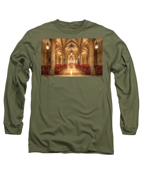 Bethlehem Chapel Washington National Cathedral Long Sleeve T-Shirt