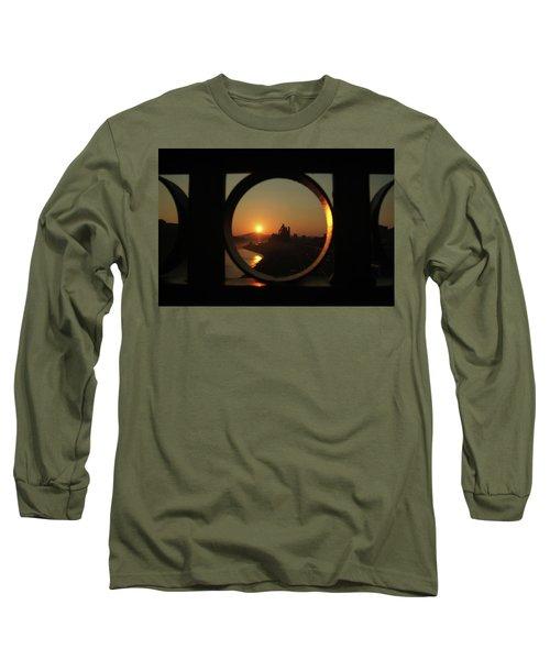 Bethlehem Sunrise Framed Long Sleeve T-Shirt