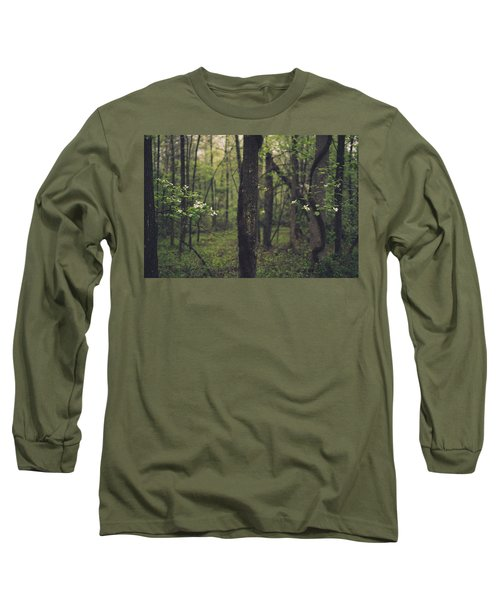 Long Sleeve T-Shirt featuring the photograph Between The Dogwoods by Shane Holsclaw