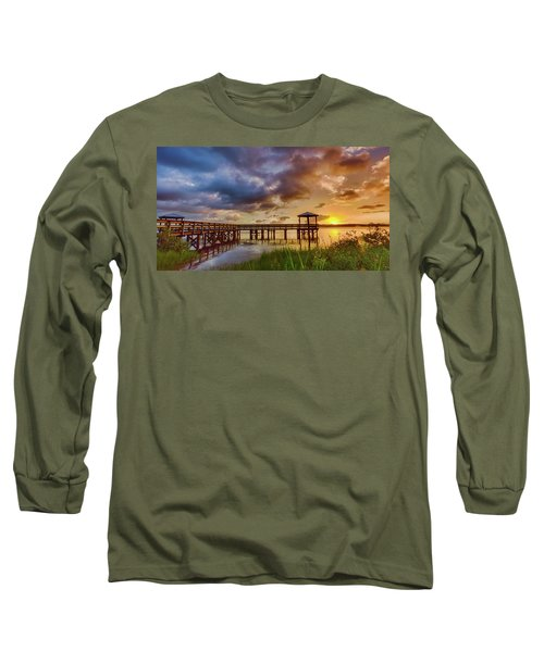 Bicentennial Sunset Long Sleeve T-Shirt
