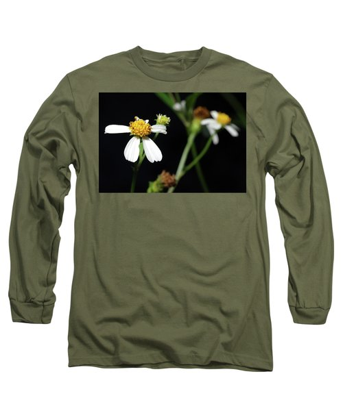 Long Sleeve T-Shirt featuring the photograph Bidens Alba by Richard Rizzo