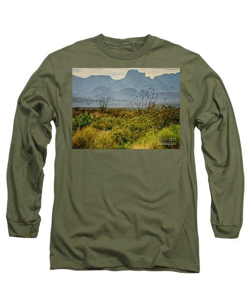 Big Bend Mountains Long Sleeve T-Shirt