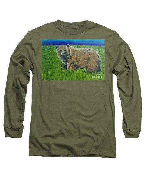 Big Brown Long Sleeve T-Shirt