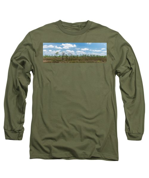 Long Sleeve T-Shirt featuring the photograph Big Cypress Marshes by Jon Glaser