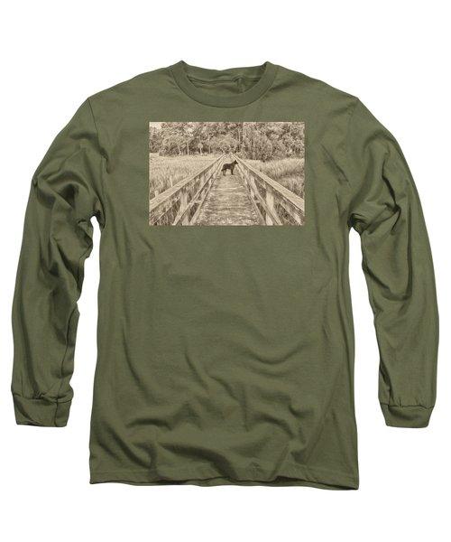 Big Dog Long Sleeve T-Shirt