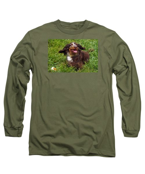 Big Ears Long Sleeve T-Shirt by Sally Weigand