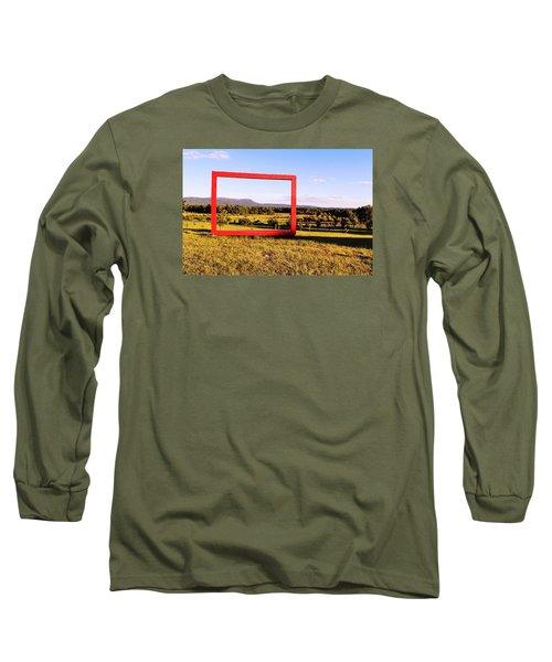 Big Red Frame Easthampton Long Sleeve T-Shirt