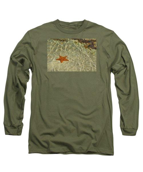 Big Red Star Long Sleeve T-Shirt