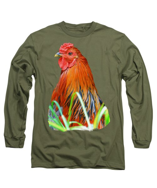 Big Red The Rooster Long Sleeve T-Shirt