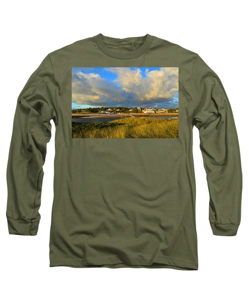 Big Sky Over Sesuit Harbor Long Sleeve T-Shirt