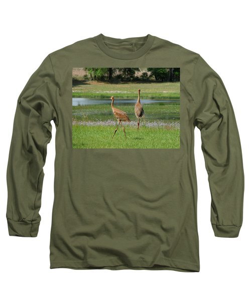 Big World Long Sleeve T-Shirt