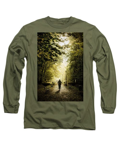 Biker Long Sleeve T-Shirt