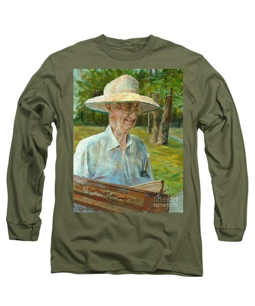 Bill Hines The Legend Long Sleeve T-Shirt