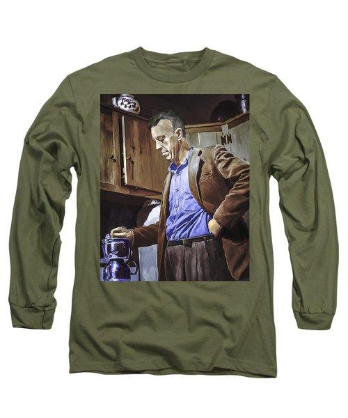 Bill Wilson Long Sleeve T-Shirt by Rick Mosher
