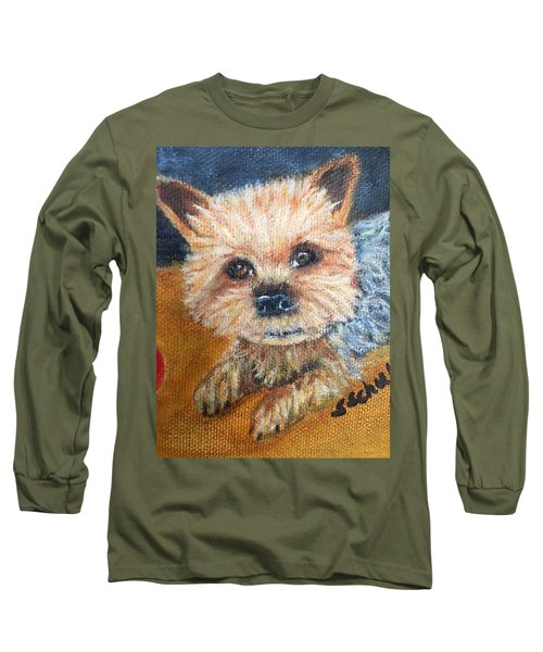 Billy Long Sleeve T-Shirt by Sharon Schultz