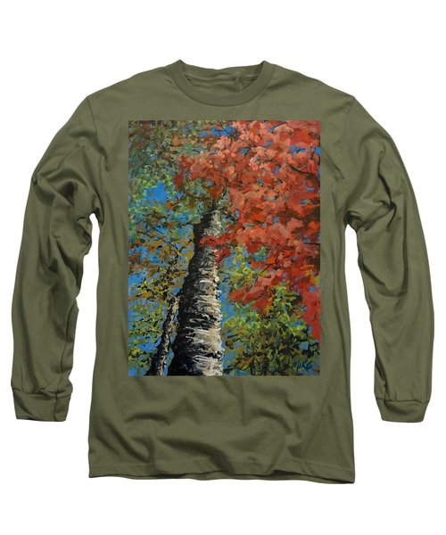 Birch Tree - Minister's Island Long Sleeve T-Shirt