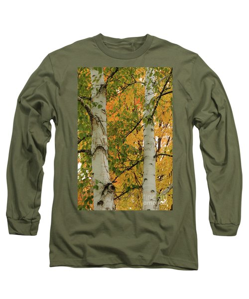Birch Tree Long Sleeve T-Shirt