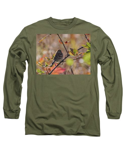 Bird In  Tree Long Sleeve T-Shirt