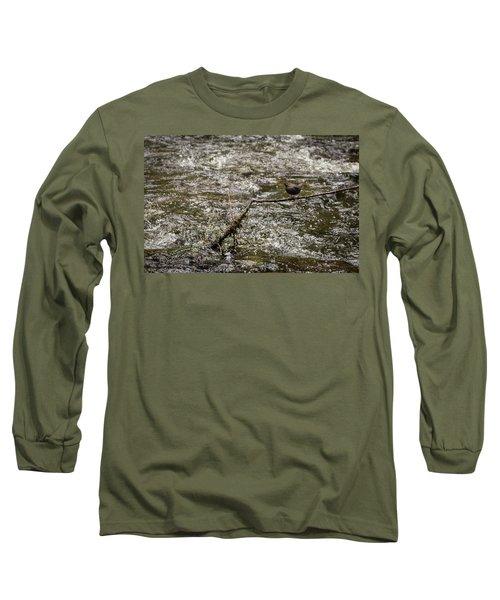 Bird On A River Long Sleeve T-Shirt