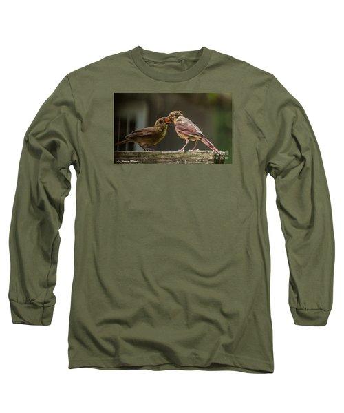 Bird Parenting Long Sleeve T-Shirt