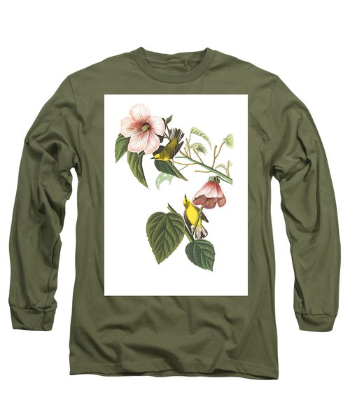 Long Sleeve T-Shirt featuring the photograph Birds Chat by Munir Alawi