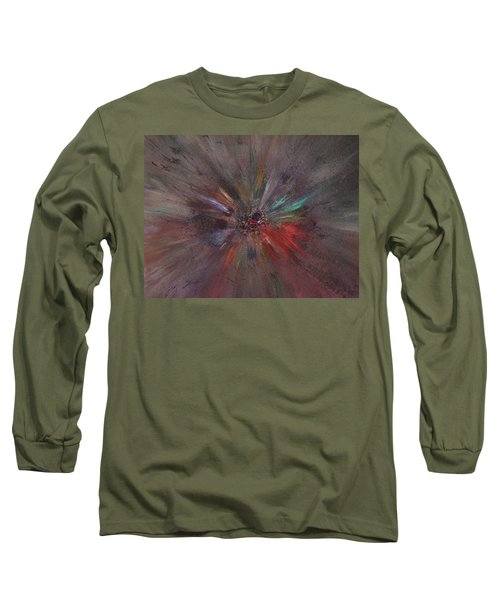 Long Sleeve T-Shirt featuring the painting Birth Of A Soul by Michael Lucarelli