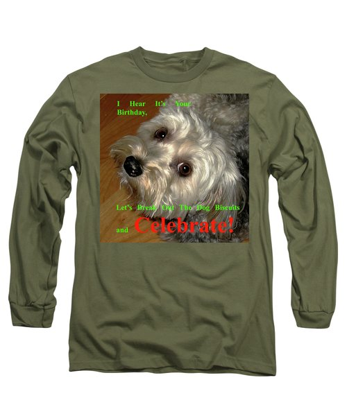 Birthday Long Sleeve T-Shirt by Dale Ford