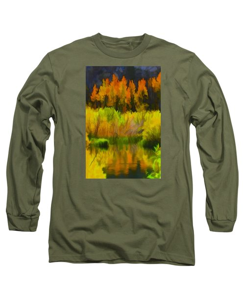 Bishop Creek Aspens Long Sleeve T-Shirt