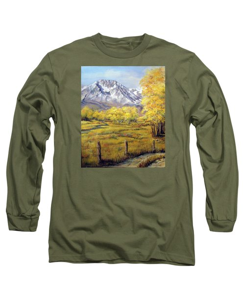 Bishop In The Fall Long Sleeve T-Shirt