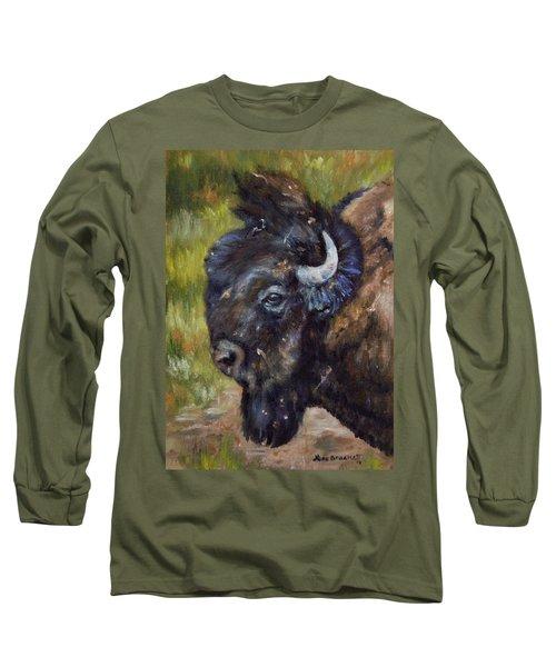 Bison Study 5 Long Sleeve T-Shirt