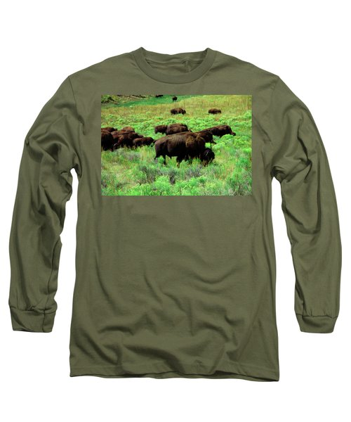 Bison2 Long Sleeve T-Shirt