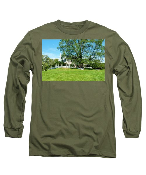 Long Sleeve T-Shirt featuring the photograph Bit O Nh History by Greg Fortier